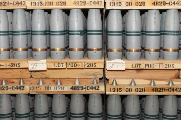 US SET TO DESTROY BIG CHEMICAL WEAPON STOCKPILE