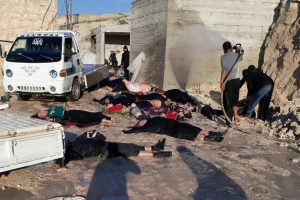 EVIDENCE FROM VICTIMS POINTS TO SARIN NERVE GAS IN SYRIAN ATTACK