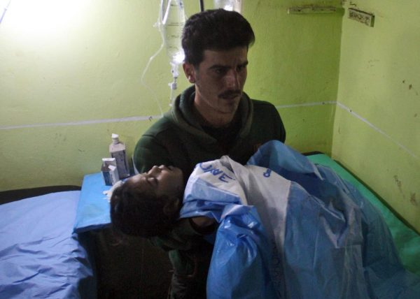 REPORTS OF A DEADLY CHEMICAL ATTACK IN SYRIA